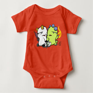 Dragon and Goat: Tiny Tykes Edition Baby Bodysuit