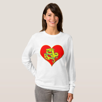 Dragon and heart T-Shirt