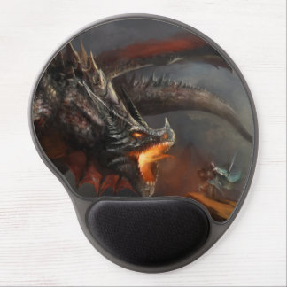 Dragon and Knight Gel Mouse Pad
