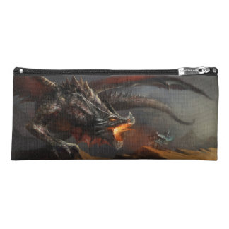 Dragon and Knight Pencil Case