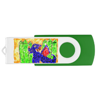 Dragon and Peridot USB Flash Drive