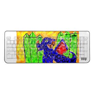 Dragon and Peridot Wireless Keyboard
