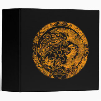 Dragon and Phoenix Avery Binder