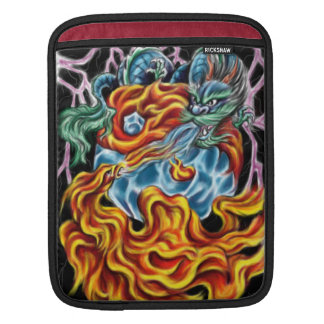 Dragon and Phoenix IPad Sleeve