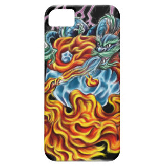Dragon and Phoenix IPhone 5 Case