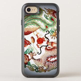 Dragon and Phoenix Stencil OtterBox Symmetry iPhone 8/7 Case