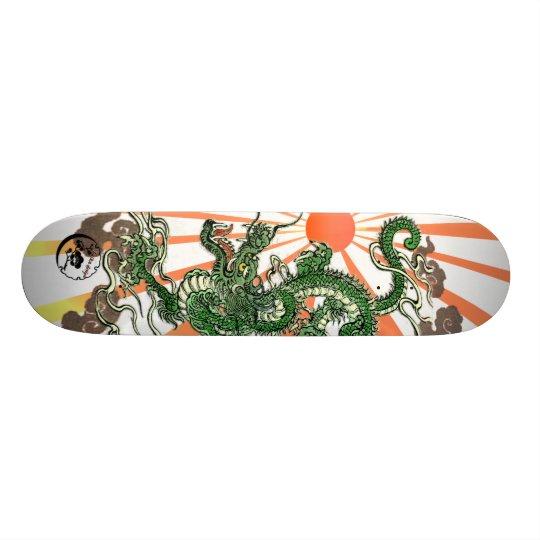 Dragon and Rising Sun Skate Board Decks