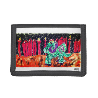 Dragon and Ruby Trifold Wallets