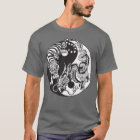 dragon and tiger yin yang symbol T-Shirt