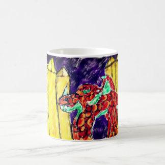 Dragon and Topaz Magic Mug