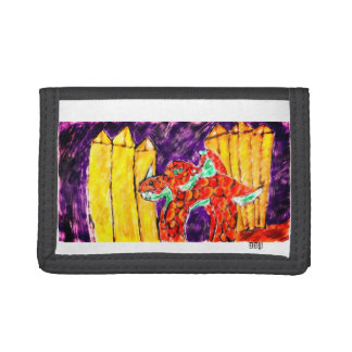 Dragon and Topaz Tri-fold Wallet