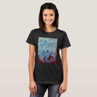 Dragon and Unicorn Yin Yang T-Shirt