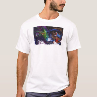 Dragon and Wizard T-Shirt