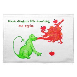 Dragon & Apple Placemat