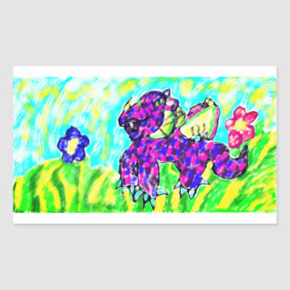 Dragon art 13 sticker