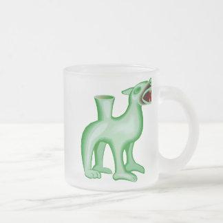 Dragon Art 28 Frosted Glass Mug