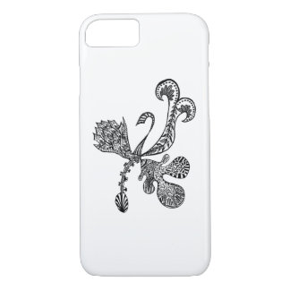 Dragon Art Case by AAdoodles for Iphone 7/8