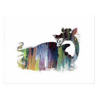 Dragon art postcard
