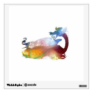 Dragon art wall sticker
