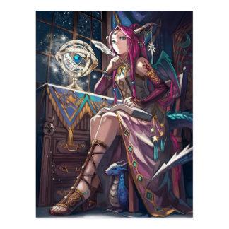 Dragon Astrologer Postcard