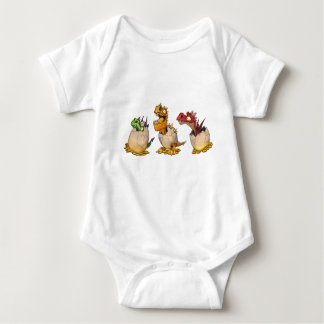 Dragon Babies Baby Bodysuit