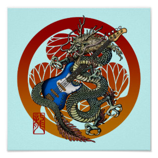 Dragon Bass 02 Print