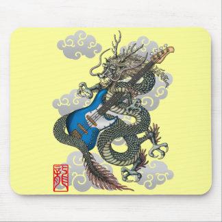 dragon bass mouse pad