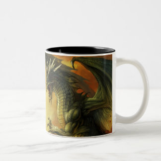 Dragon Battle Mug