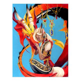 Dragon-Beloved Postcard