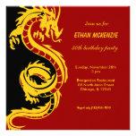 Dragon Birthday Custom Invitations