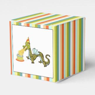 dragon birthday favor box