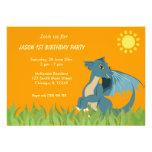 Dragon Birthday Party Custom Invitation