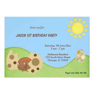 Dragon Birthday Party Personalized Invite