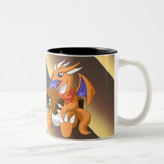 Dragon Birthday with Chocolate Cake Mug