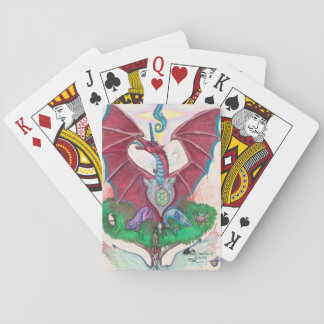 Dragon Blessing Playing Cards