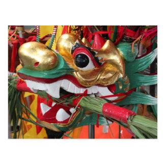 Dragon Boat headpiece Postcard