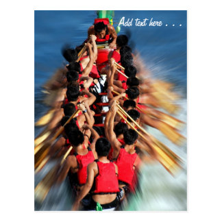 Dragon Boat Race Competition Postcard