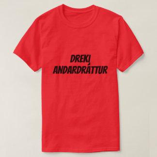 dragon breath in Icelandic (dreki andardrátt) red T-Shirt