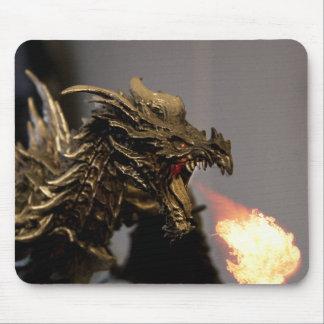 Dragon Breath Mouse Pad