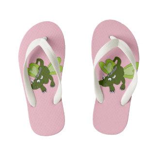 Dragon Butterfly Kid's Flip Flops