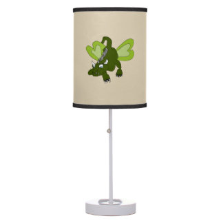 Dragon Butterfly Table Lamp