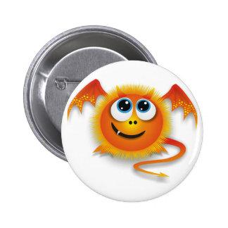 Dragon 2 Inch Round Button