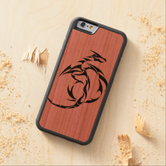 dragon carved cherry iPhone 6 bumper case