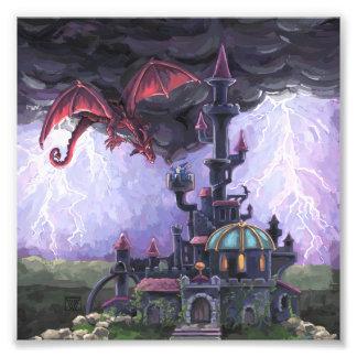 Dragon Castle Photo Print