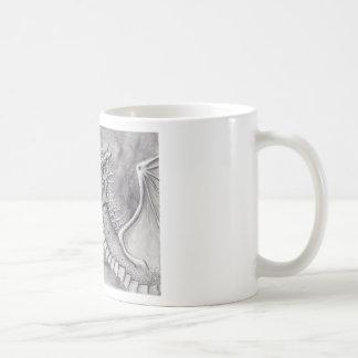 Dragon Cave Basic White Mug