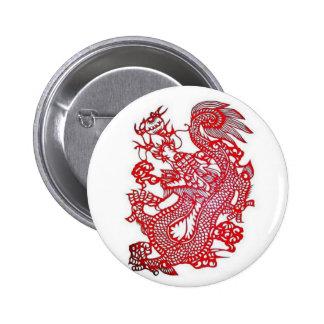 Dragon-Chinese Zodiac/ 2 Inch Round Button