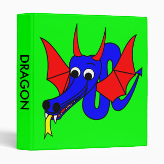Dragon CHINESE Zodiac Vinyl Binders