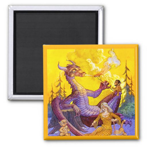 Dragon Cookout Magnet