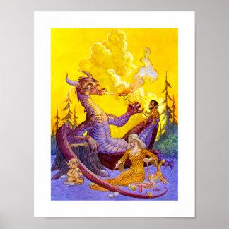 Dragon Cookout Print