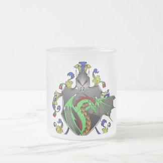 Dragon Crest Mug Frosted Glass Mug